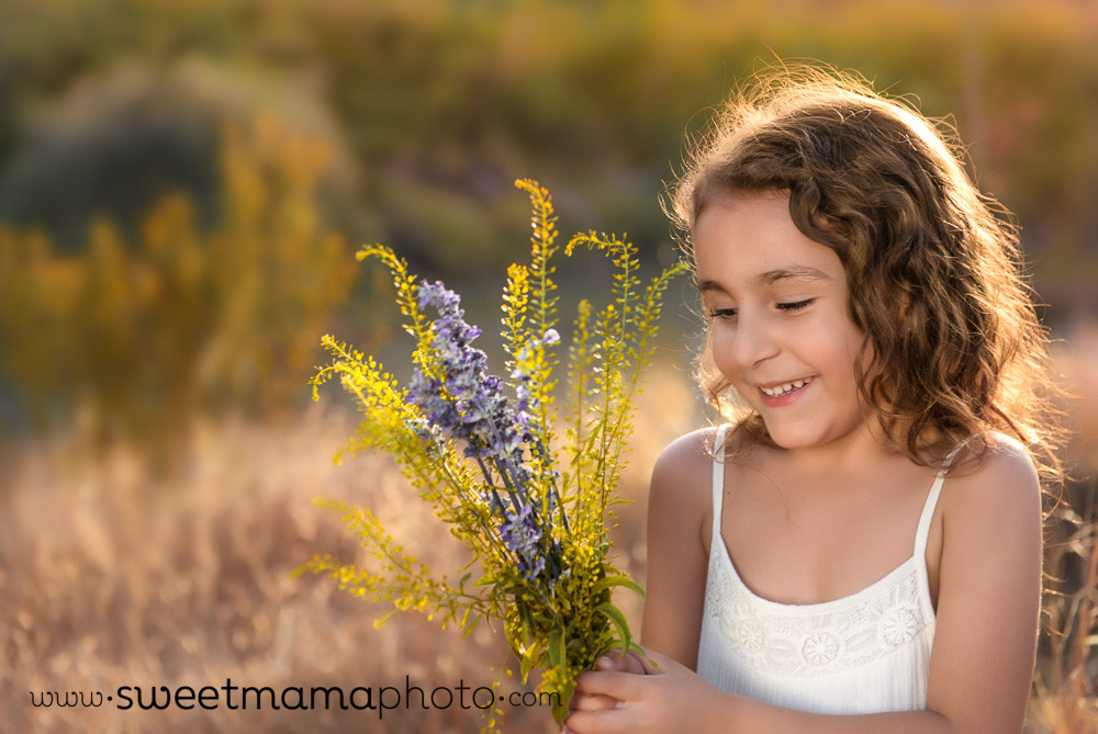Girl in white dress - Cyprus Family Photography by Sweetmama Photography