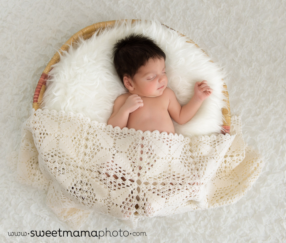 Newborn Baby Portrait by Sweetmama Photography - Cyprus Family photographers