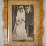 My grand-parents' wedding photo