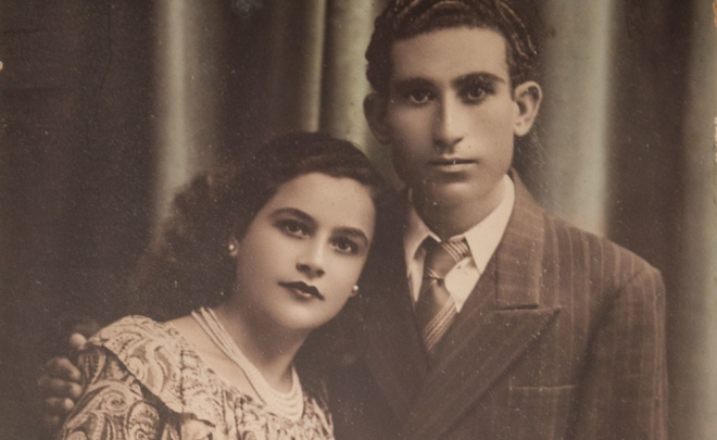 My grand-parents' engagement photo