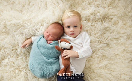 Newborn baby and Family Photography by Sweetmama Photography - Cyprus photography boutique specializing in newborn, children, family, maternity and christening photography - siblings