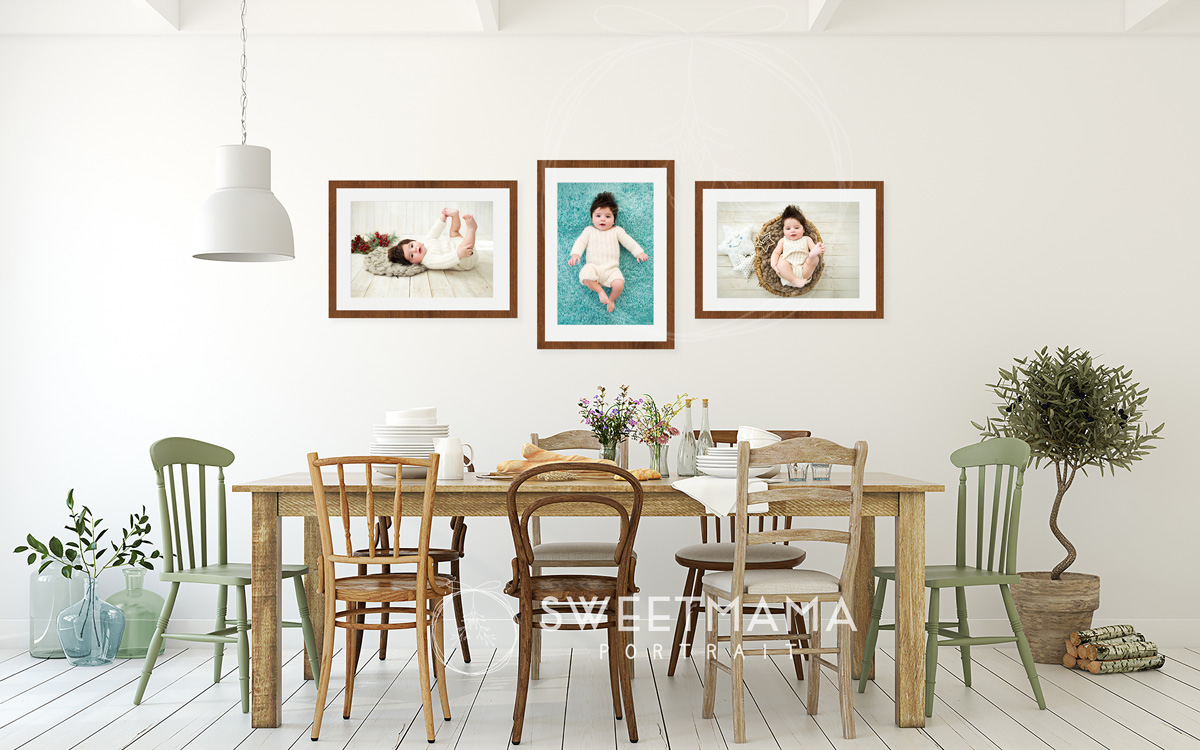 Frames and wall-art - Sweetmama Photography, Cyprus-based photography boutique specialising in couture-inspired Christening, Family, and Newborn portrait photography