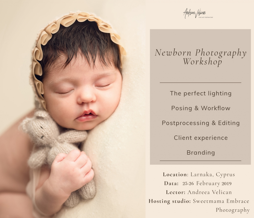 Andreea velican newborn workshop in larnaca